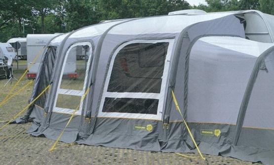 Neue Luftzelt kollektion für Wohnwagen