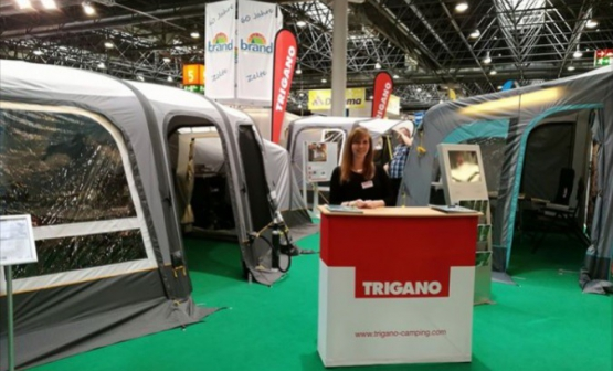 Trigano New Inflatable awnings at the Düsseldorf Caravan Salon